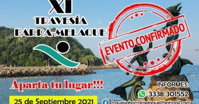 Confirman XI Travesía Barra de Navidad-Melaque
